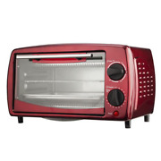 Brentwood 4-slice Red Convection Toaster Oven 700-watt