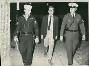 1967 Press Photo John Steinback Iv Arrested For Narcotics And Armed Forces Officer