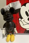 Disney X Coach Leather Mickey Mouse Doll Key Chain Fob Bag Charm ❤️ New And Rare