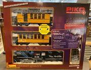 Piko 38112 Dandrgw Pass G Scale Rc Starter Set W/sound 120v New In The Box