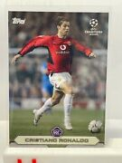 Topps Now Lost Rookie Cristiano Ronaldo Manchester United 03/04