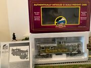 🚂mth 20-90012f Chessie Extended Vision Caboose Nib