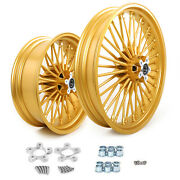 Fat Spoke Wheels Spacer 21x3.5 18x5.5 For Harley Touring Road Glide 1984-2008