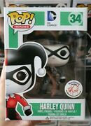 Retired Funko Pop Dc Harrisonand039s Exclusive Black And White Harley Quinn 34