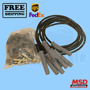 Spark Plug Wire Set Msd Fits With Ford Falcon Sedan Delivery 65