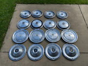 Vintage Hubcap Wheel Cover Lot 16 Ford Cadallic