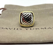 David Yurman 18k Gold And Sterling Silver Albion Signature Cable 6.5