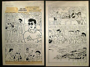 Josie And The Pusssycat 5-page Original Art Story Archie Publications
