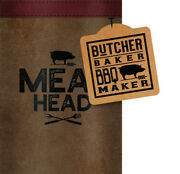 Open Road Brands 90170714 Canvas Meat Head Bbq Maker Can Cooler Pack Of 4