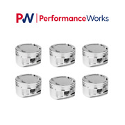 Cp Pistons Custom Piston Bore 85mm 9.01 Cr For Bmw M54b30 Engine 6 Cyl Set Of 6