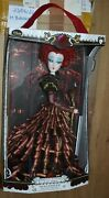 Disney Store Limited Edition The Red Queen Iracebeth Doll Alice In Wonderland
