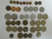 Lot Of 42 Different Obsolete Turkey Coins - 1958 To 2003 - Circulated
