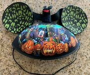 Disney Parks Mickey Mouse And Friends Haunted Mansion Bat Halloween Ear Hat Cap