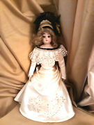 Francois Gaultier French Fashion Antique Doll Marked Fg Scroll 12 Rare Beauty
