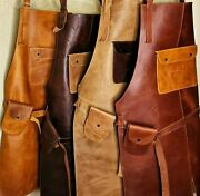 Jojo Leather 102 Apron For Butcher Bbq Grill Kitchen Woodwork Barber Welding