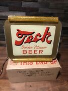 Rare Vintage 1940s Pittsburgh Brewing Co Tech Beer Lighted Window Display Sign