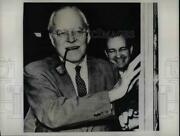 1961 Press Photo Allen W. Dulles American Diplomat Lawyer Banker And Public