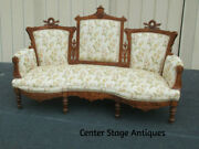 62363  Antique Victorian Sofa Couch Chair