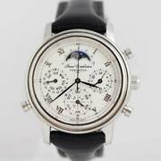 Tenshodo Grand Complication Classic Moon Phase 6771-t008721 Used Watch Ss Lh Ec