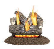 Pleasant Hearth Valley Oak Vfl2-vo24dr Vent-free Dual Gas Fireplace Logs 24 In.