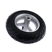 110/50-6.5 Pocket Bike Rear Tyres Wheel Tire And Rim Set Fit For 2 Stroke 47