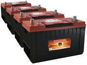 4 Xca31-1400 Comp W/agm Freightliner Grp 31 Gas Diesel Semi Truck Repl Battery