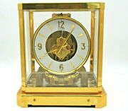 Fully Serviced 1960s Jaeger Lecoultre 528 Atmos Clock 122000 Swiss Time Working