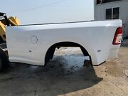 19-21 Dodge Truck 8' Dually Bed And Lights Rust Free Ram Long Box Drw 3500 White