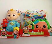 Cocomelon Roto Jj Doll Bedtime Soft 10 Plush Sing Toy Musical Doctor Kit New