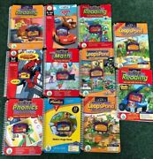 Leap Frog Leappad Learning Books And Cartridges Lot Of 10 Phonics My 1st Leap Pad