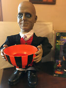 Gemmy Industries Animated Candy Butler Bowl, 3' Figure Works Great W Box