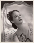 Evelyn Venable Signed Autograph Photo Film Actress Death Takes A Holiday