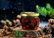 Handmade Natural Healthy Sweets Pine Cones Jam Beneficial Respiratory Tract 140g