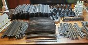 200+ Piece Lot Of Bachmann Atlas And Life-like Ho Scale Train Tracks And Pieces