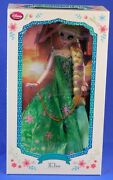 Disney Store Elsa Frozen Fever 17 Doll Limited Edition Of 5000