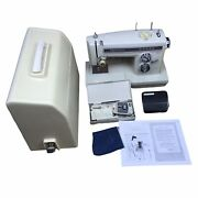 Sears Kenmore Portable Sewing Machine Model 158. 16600 W/ Pedal,case,accessories