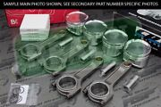 Cp X-style Pistons Brian Crower I Beam Rods Vtec B18a B18b 81.5mm 12.51