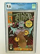 Silver Surfer 50 Cgc Verified 9.6 White Thanos Embossed Foil 1st Owner N0-rings