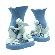 Very Rare Wedgwood Genius Collection Cupid And Psyche Vases