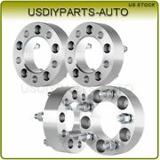 4x 1.5 5x4.5 Wheel Spacers 1/2x20 Studs Adapters Fits 1991-2008 Ford Ranger