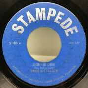 Ernie Mcculloch- Bonnie Dee And Women And The Wine 45 Rpm Record S103