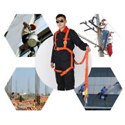 2m Fall Protection Construction Safety Harness Personal Protective 100kg