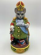 8.2 Rat King Figurine From Nutcracker Fairytale Decoration Hand Made Gift