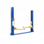 Lifttech 9000 Lb Two Post Auto Lift W/floor Plate Ltp-9f 9k Free Shipping