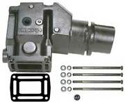 Riser Exhaust 4 Inch Outlet For Omc And Volvo Penta V6 V8 913784 7.75 Inch High