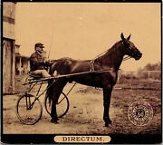 Vintage Photo Trade Card J And P Coats Six Cord Thread Famous Horses Directum