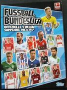Bundesliga 2013-2014 Germany - 100 Complete Topps Album Stickers Trading Cards
