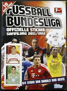 Bundesliga 2011-2012 Germany - 100 Complete Topps Album Stickers Trading Cards