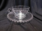 Imperial Candlewick 12 Saucers And 10 Cups