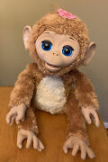 Furreal Friends Large Cuddles My Giggly Monkey Interactive Hasbro Works